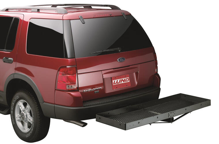 Lund Cargo Carrier fits 2 inch Receiver Mounted