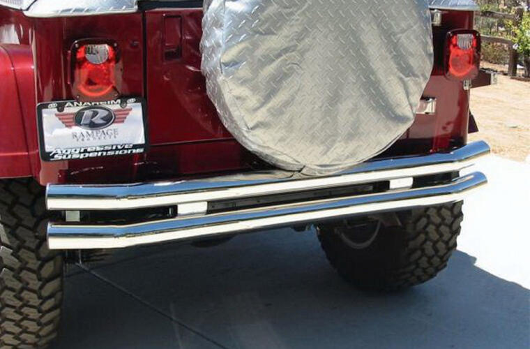 Rampage Rear Tube Bumpers