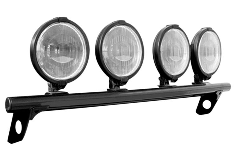 N-FAB Light Bar w/ Tabs