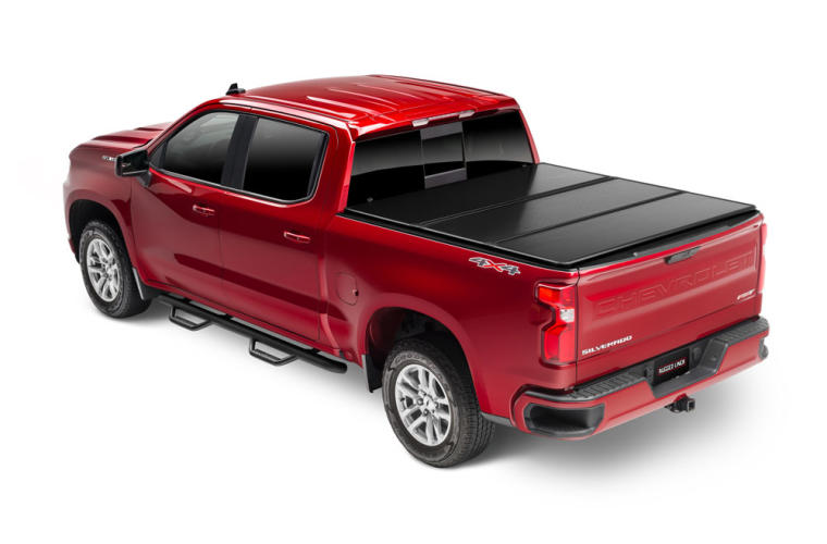 Rugged Cover E Series Hard Folding Truck Bed Cover Tonneau Covers Truck Hero