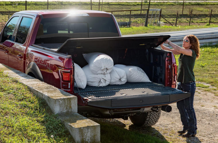 Rugged Liner Hc3 Premium Hard Folding Truck Bed Cover Tonneau Covers Truck Hero