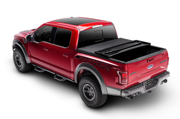 Rugged Liner Premium Soft Folding Truck Bed Cover Tonneau Cover Truck Hero